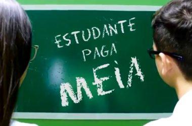 Estudante Paga Meia
